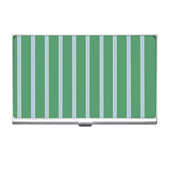Green Line Vertical Business Card Holders