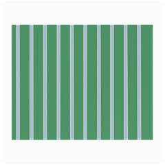 Green Line Vertical Small Glasses Cloth