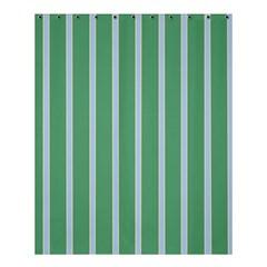 Green Line Vertical Shower Curtain 60  X 72  (medium)