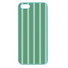 Green Line Vertical Apple Seamless Iphone 5 Case (color)