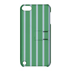 Green Line Vertical Apple Ipod Touch 5 Hardshell Case With Stand