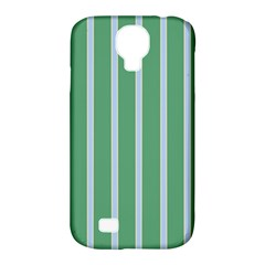 Green Line Vertical Samsung Galaxy S4 Classic Hardshell Case (pc+silicone)