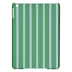 Green Line Vertical Ipad Air Hardshell Cases