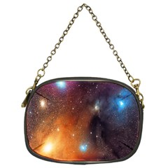 Galaxy Space Star Light Chain Purses (two Sides)