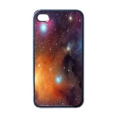 Galaxy Space Star Light Apple Iphone 4 Case (black)