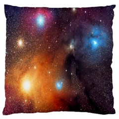 Galaxy Space Star Light Large Cushion Case (one Side)