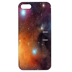 Galaxy Space Star Light Apple Iphone 5 Hardshell Case With Stand