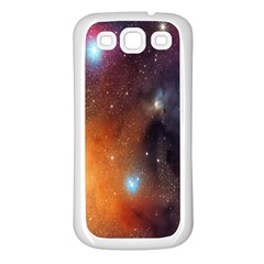 Galaxy Space Star Light Samsung Galaxy S3 Back Case (white)