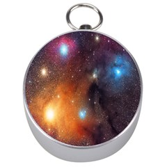 Galaxy Space Star Light Silver Compasses