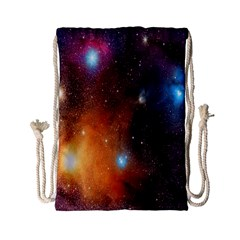 Galaxy Space Star Light Drawstring Bag (small)