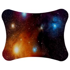 Galaxy Space Star Light Jigsaw Puzzle Photo Stand (bow)