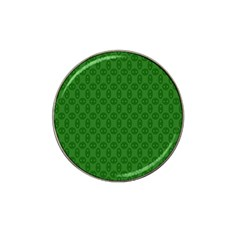 Green Seed Polka Hat Clip Ball Marker (4 Pack)