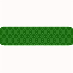 Green Seed Polka Large Bar Mats