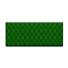 Green Seed Polka Cosmetic Storage Cases