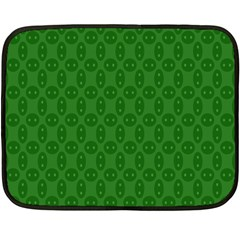 Green Seed Polka Fleece Blanket (mini)