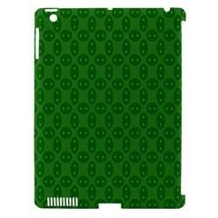 Green Seed Polka Apple Ipad 3/4 Hardshell Case (compatible With Smart Cover)