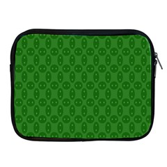Green Seed Polka Apple Ipad 2/3/4 Zipper Cases