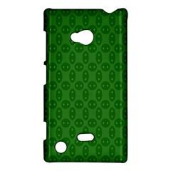 Green Seed Polka Nokia Lumia 720