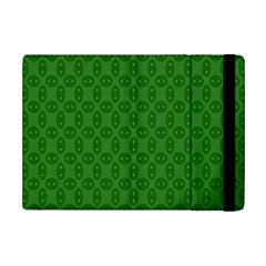 Green Seed Polka Ipad Mini 2 Flip Cases