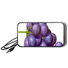 Grape Fruit Portable Speaker (black)