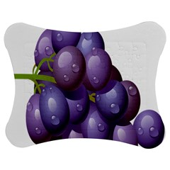 Grape Fruit Jigsaw Puzzle Photo Stand (bow)