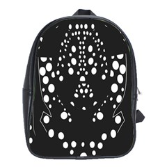 Helmet Original Diffuse Black White Space School Bag (xl)