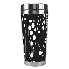 Helmet Original Diffuse Black White Space Stainless Steel Travel Tumblers