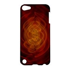 High Res Nostars Orange Gold Apple Ipod Touch 5 Hardshell Case