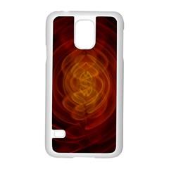 High Res Nostars Orange Gold Samsung Galaxy S5 Case (white)