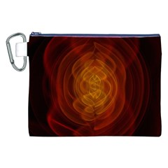 High Res Nostars Orange Gold Canvas Cosmetic Bag (xxl)