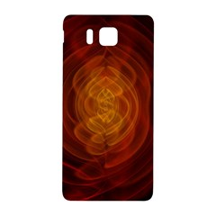 High Res Nostars Orange Gold Samsung Galaxy Alpha Hardshell Back Case