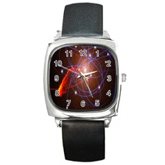 Highest Resolution Version Space Net Square Metal Watch