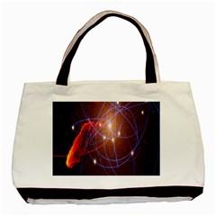 Highest Resolution Version Space Net Basic Tote Bag
