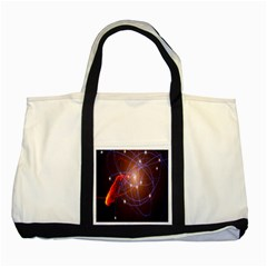 Highest Resolution Version Space Net Two Tone Tote Bag