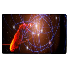 Highest Resolution Version Space Net Apple Ipad 3/4 Flip Case
