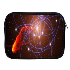Highest Resolution Version Space Net Apple Ipad 2/3/4 Zipper Cases