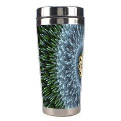 Hipnotic Star Space White Green Stainless Steel Travel Tumblers