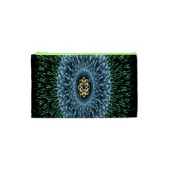Hipnotic Star Space White Green Cosmetic Bag (xs)