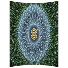 Hipnotic Star Space White Green Back Support Cushion