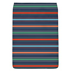 Horizontal Line Blue Green Flap Covers (s)