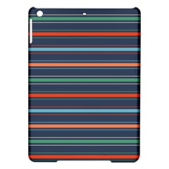 Horizontal Line Blue Green Ipad Air Hardshell Cases