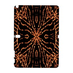 Golden Fire Pattern Polygon Space Galaxy Note 1