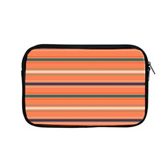 Horizontal Line Orange Apple Macbook Pro 13  Zipper Case