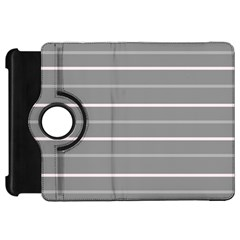 Horizontal Line Grey Pink Kindle Fire Hd 7