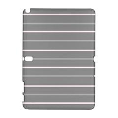 Horizontal Line Grey Pink Galaxy Note 1