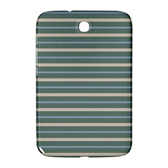 Horizontal Line Grey Blue Samsung Galaxy Note 8 0 N5100 Hardshell Case