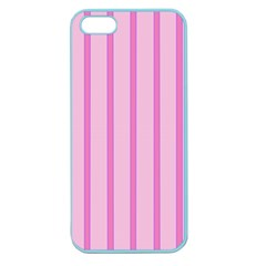 Line Pink Vertical Apple Seamless Iphone 5 Case (color)