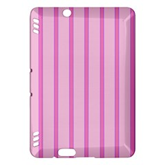 Line Pink Vertical Kindle Fire Hdx Hardshell Case