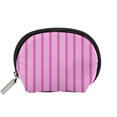 Line Pink Vertical Accessory Pouches (small)