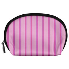 Line Pink Vertical Accessory Pouches (large)